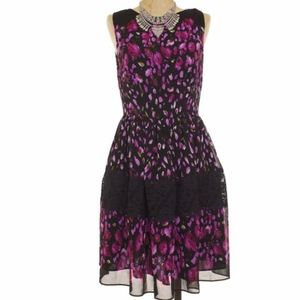 Betsy Johnson  Floral Fit and Flare Sundress 6